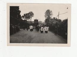 PHOTO - LANDEAN - CEREMONIE RELIGIEUSE DANS LE BOURG AUTOUR DE 1935 - 35 - France