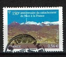 Anniversaire De Nice à La France N°4458 Oblitéré Année 2010 - France