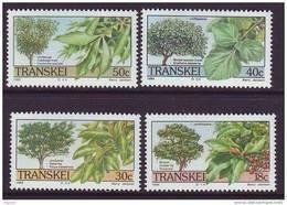 D101225 Transkei 1989 South Africa INDIGENOUS TREES Fruit MNH Set - Afrique Du Sud Afrika RSA Sudafrika - Transkei