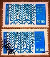 Brazil,1963, Organization Against Starve, MNH +used.Michel # 1038 - Contro La Fame