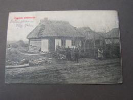 Polen Karte Feldpost  1915  Zagroda.. - Polen
