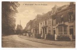Watermael Boitsfort Rue Des Bouleaux Carte Postale Ancienne Petite Animation - Watermael-Boitsfort - Watermaal-Bosvoorde