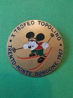 SPORT INVERNALI SPILLE  10° Trofeo Topolino 1967 - Italy