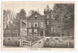 Watermael Boitsfort Ecole Communale De La Futaie Carte Postale Ancienne - Watermael-Boitsfort - Watermaal-Bosvoorde