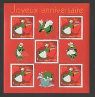 France 2005 - Bloc Feuillet  N°YT 83 **  -  Anniversaire Bécassine Portant Un Gateau / MNH / N° YT 3778**  / BD - Frankrijk