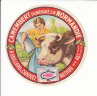 Etiquette De Fromage Camembert - Gaillard - Chauvel - Authou - Eure. - Fromage