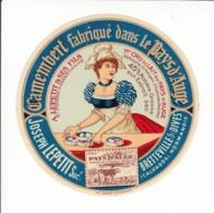 Etiquette De Fromage Camembert - Joseph Lepetit - Bretteville Sur Dives - Calvados. - Fromage