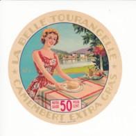 Etiquette De Fromage Camembert - La Belle Tourangelle. - Fromage