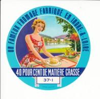 Etiquette De Fromage - Indre Et Loire. - Fromage