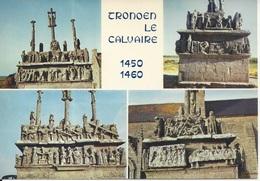 CPM  Saint Jean Trolimon   Tronoen  Le Calvaire Construit De 1450 à 1460 Les Différentes Faces Du Calvaire - Saint-Jean-Trolimon