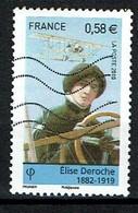 Elise Deroche N°4504 Oblitéré Année 2010 - France