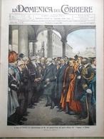 La Domenica Del Corriere 29 Maggio 1910 Funerali Edoardo VII Giro Italia Verona - Libri, Riviste, Fumetti
