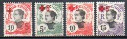 Indochine 65 à 68* Croix-Rouge - Indochine (1889-1945)