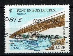 Crest N°4544 Oblitéré Année 2011 - France