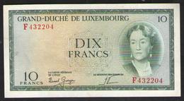 ЛЮКСЕМБУРГ  10  1954 - Luxembourg