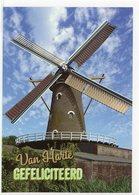 OUDEMOLEN Bij Fijnaart - Moerdijk (N.-Br.) - Molen/moulin - Mooie WENSKAART Incl. Envelop Van De Oude Molen - Pays-Bas