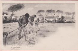 De Panne La Panne Bains La Peche Vissers Visserij Noordzee Les Filocheurs F. Goossens IIllustrateur Illustrator - De Panne