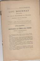MONTIGNAC  LIVRE BOURNAT FELIBREE 1937 - France