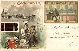 1899  SOUVENIR SUCHARD SUCHARD SCHWIJZ    Advertisement   Advertising. - Publicité