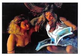 Brenot Femme Pin Up AFP 199 - Künstlerkarten