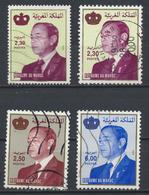 °°° MAROC - Y&T N°1225/51A/51F/51G - 1998/2000 °°° - Marocco (1956-...)