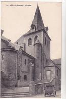 58  DECIZE  - Eglise - CPA  N/B  9x14 BE - Decize