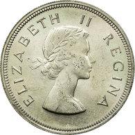 Monnaie, Afrique Du Sud, Elizabeth II, 2-1/2 Shillings, 1960, SUP+, Argent - Afrique Du Sud