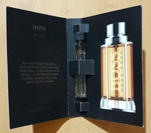 MUESTRA DE PERFUME 1.5 Ml. HUGO BOSS The Scent. - Muestras De Perfumes (testers)