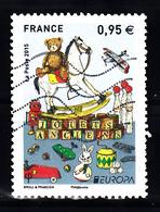 France 2015 Mi Nr  6126, Europa, Historisch Speelgoed - Gebruikt