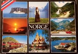 Ak Norwegen - Nordkapp - Nordfjord - Stabkirche - Stamsund - Briksdalen .... - Norvège