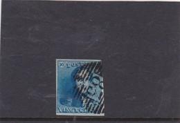 .KONING/ROI LEOPOLD 1 NR2 4 Marches O MONS - 1830-1849 (Belgique Indépendante)