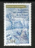 Légende Du Cheval Blanc De La Solana, Timbre Neuf ** 2019, HAUTE FACIALE Pour Lettre Recommandée - Unused Stamps