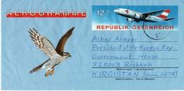 Aerogramme: Austria - Kyrgyz Republic, 1994 - Poste Aérienne