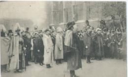 Brussel - Bruxelles - Funérailles Du Roi Léopold II - L'entrée Du Corps à Ste Gudule - 1909 - Feesten En Evenementen