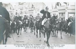 Brussel - Bruxelles - 26 - La Joyeuse Entrée Du Roi Albert - Cliché Neurdein - Feesten En Evenementen