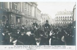 Brussel - Bruxelles - 28 - La Joyeuse Entrée Du Roi Albert - Cliché Neurdein - Feesten En Evenementen