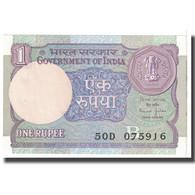 Billet, Inde, 1 Rupee, 1991, KM:78Ac, SPL - Inde