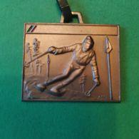 SPORT INVERNALI SPILLE Dopolavoro P.T. Campionato Nazionale Sci Bormio 1986 - Italy
