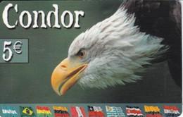 TARJETA DE ESPAÑA DE UN AGUILA (BIRD-PAJARO-EAGLE) - Aigles & Rapaces Diurnes
