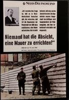 Ak Deutschland - Berlin - Mauerbau - Geschichte