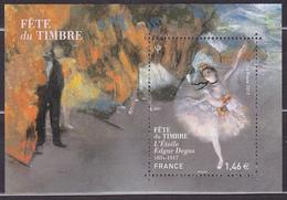 Feuille Neuve** De 1 Timbre-poste - Fête Du Timbre L'Étoile De Edgar Degas Poète Français - F5131 (Yvert) - France 2017 - Blocs & Feuillets