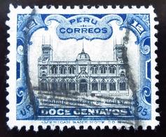 1905  Pérou Yt 130 . National Institute Of Hygiene In Lima - Peru