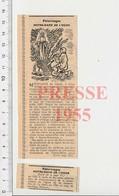 Presse 1955 Pélerinage à Notre-Dame De L'Osier à Vinay (Isère) Port-Combet Et Sa Serpette Outil 51CEM-C3 - Unclassified