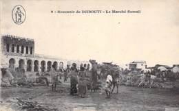 DJIBOUTI  - Le MARCHE SOMALI - CPA - - Djibouti