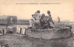 DJIBOUTI - La Fontaine Des Somalis - CPA - - Gibuti
