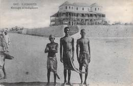 DJIBOUTI  - Groupe D'Indigènes - CPA - - Djibouti