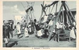 DJIBOUTI  - Escarpolettes - CPA - - Djibouti