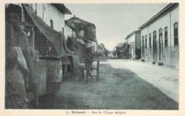 DJIBOUTI  - Rue Du Village Indigène - CPA - - Djibouti