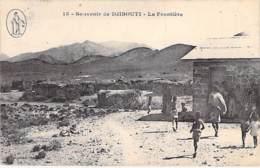 DJIBOUTI  - La Frontière - CPA - - Gibuti