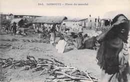 DJIBOUTI  - Place Du Marché - CPA - - Djibouti